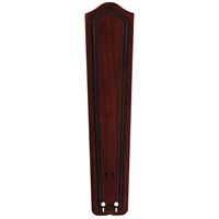 Fanimation Isle Wood Carved Bulge Frame Wood 26in Blade Set in Dark Cherry B6131DC