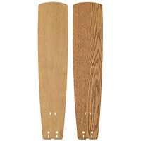Fanimation B6133MOMP Signature Medium Oak and Maple 26 inch Set of 5 Fan Blade
