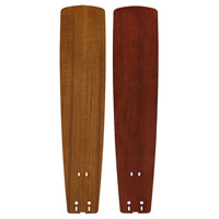 Fanimation B6133TKMH Signature Teak and Mahogany 26 inch Set of 5 Fan Blade