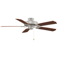 Fanimation BP200SN1 Aire Decor 52 inch Satin Nickel with Cherry/Walnut Blades Ceiling Fan in 110 Volts alternative photo thumbnail