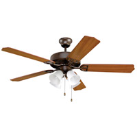 Aire Decor 52 inch Oil-Rubbed Bronze with Cherry/Walnut Blades Ceiling Fan