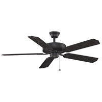 Fanimation Aire Decor Builder Series Indoor Ceiling Fan in Black with Black Blades BP230BL1 photo thumbnail