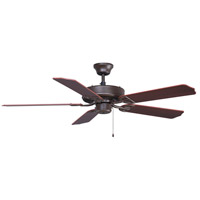 Aire Decor 52 inch Oil-Rubbed Bronze with Walnut Blades Ceiling Fan in Cherry/Walnut