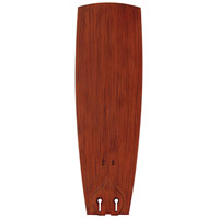 Fanimation Isle Plastic Narrow Composite Curved 20in Blade Set in Teak BPW20TK