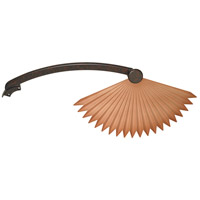 Fanimation Isle Plastic Abs Chinese Palm Blade Set in Rust BPW5240RS photo thumbnail
