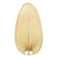 Caruso Natural 22 inch Set of 10 Fan Blade in Natural Palm
