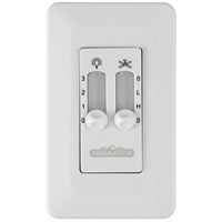 Fanimation CW6WH Signature White Wall Control, Non-Reversing photo thumbnail