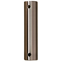 Fanimation DR1SS-24SSBNW Signature Plated Brushed Nickel Downrod