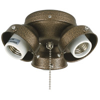Fanimation Turtle Fitter Fan Light Kit in Aged Bronze 220v F301AZ-220