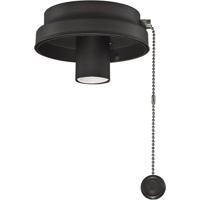 Fanimation F6DZ Fitters 1 Light Dark Bronze Fan Light Kit