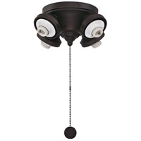 Fitters 4 Light Dark Bronze Fan Light Fitter