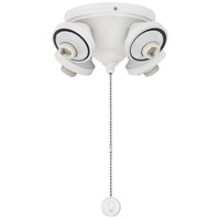 Fitters 4 Light Matte White Fan Light Fitter