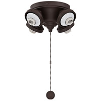 Fitters 4 Light Oil-Rubbed Bronze Fan Light Fitter
