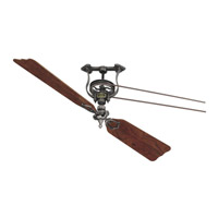 Brewmaster 12 inch Pewter Ceiling Fan, Motor Only