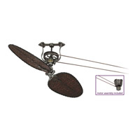 Brewmaster 8 inch Pewter Ceiling Fan in 110 Volts, Motor Only
