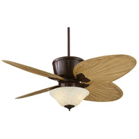 Sandella 11 inch Rust Ceiling Fan, Fan Motor and Up-Light Only