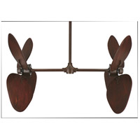 Palisade 68 inch Rust Ceiling Fan, Motor Only