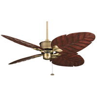 Fanimation Islander Fan Motor Only in Antique Brass 220v FP320AB-220