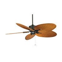 Fanimation Islander Ceiling Fan (Motor Only) in Black FP320BL1-220