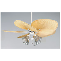 Fanimation FP320MW Islander 7 inch Matte White Ceiling Fan, Motor Only photo thumbnail