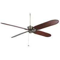Fanimation Islander Fan Motor Only in Pewter 220v FP320PW-220 photo thumbnail