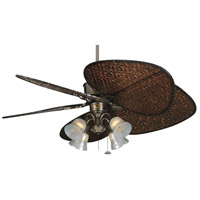 Fanimation Traditional Fitter Fan Light Kit in Rust F404RS