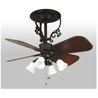 Fanimation FP410BL Americana 17 inch Black Ceiling Fan in 110 Volts, Motor Only alternative photo thumbnail