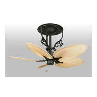 Fanimation FP410BL Americana 17 inch Black Ceiling Fan in 110 Volts, Motor Only photo thumbnail