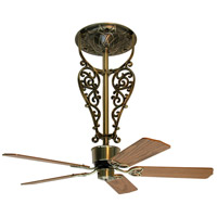 Americana 17 inch Antique Brass Ceiling Fan, Motor Only