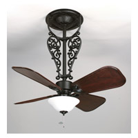 Americana 17 inch Black Ceiling Fan, Motor Only