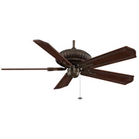 Belleria 15 inch Aged Bronze Ceiling Fan in 220 Volts, Motor Only