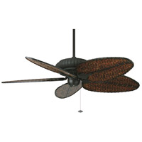 Belleria 15 inch Textured Black Ceiling Fan in 110 Volts, Motor Only
