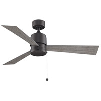 Fanimation FP4640BGRW Zonix Wet 52 inch Matte Greige with Weathered Wood Blades Ceiling Fan