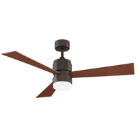 Zonix 54 inch Oil-Rubbed Bronze with Walnut Blades Ceiling Fan