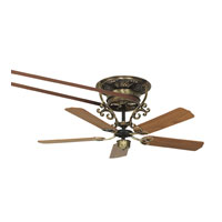 Fanimation Bourbon Short Fan Motor Only in Antique Brass FP510AB