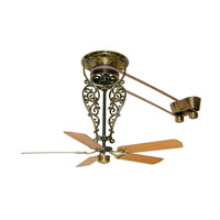 Fanimation FP520AB Bourbon 17 inch Antique Brass Ceiling Fan, Motor Only alternative photo thumbnail