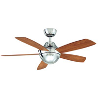 Fanimation Celano Indoor Ceiling Fan in Polished Nickel with Cherry Blades FP5420PN
