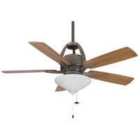 Fanimation Huxley Indoor Ceiling Fan in Oil-Rubbed Bronze with Cherry/Walnut Blades FP5620OB alternative photo thumbnail