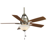 Fanimation Huxley Indoor Ceiling Fan in Pewter with Cherry/Walnut Blades FP5620PW
