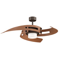 Avaston 52 inch Oil-Rubbed Bronze with Cherry Blades Ceiling Fan