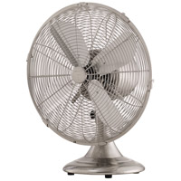 Retro Breeze Brushed Nickel 16 inch Table Fan