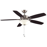 Fanimation FP6285BBN Aire Deluxe 52 inch Brushed Nickel with Cherry/Dark Walnut Blades Indoor/Outdoor Ceiling Fan alternative photo thumbnail