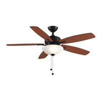 Aire Deluxe 13 inch Dark Bronze with Cherry/Dark Walnut Blades Ceiling Fan