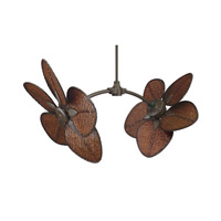 Caruso Oil-Rubbed Bronze Ceiling Fan in 110 Volts, Motor Only