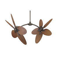Fanimation Caruso Narrow Oval 22in Blade Set in Composite Palm Brown/Red CABPP4BR alternative photo thumbnail