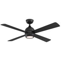 Fanimation FP7652BL Kwad 52 52 inch Black Indoor/Outdoor Ceiling Fan
