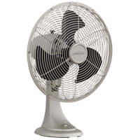 Portbrook Satin Nickel 20 inch Table Fan
