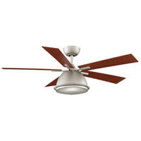 Fanimation Breckenfield Indoor Ceiling Fan in Satin Nickel with Cherry Blades FP7951SN