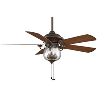 Fanimation FP7954OB Crestford 52 inch Oil-Rubbed Bronze with Cherry/Walnut Blades Ceiling Fan alternative photo thumbnail