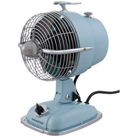 Fanimation FP7958BB Urbanjet Baby Blue 12 inch Table Fan photo thumbnail